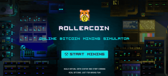 🎮 Gameplay: Rollercoin - online mining simulator