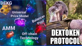 DEXToken, DEXG and The Gauntlet of Infinity