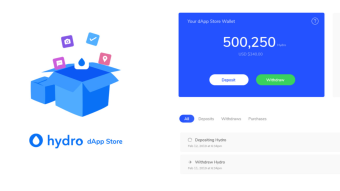 The Anatomy of the Hydro dApp Store