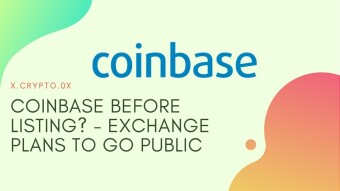 Coinbase before listing? - Exchange plans to go public