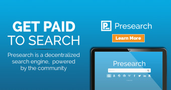 PreSearch - Get Paid by Using Search Engines