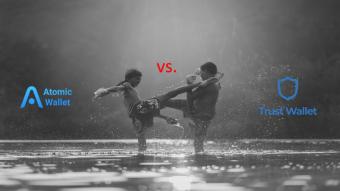 Atomic Wallet vs. Trust Wallet – clash of the titans!