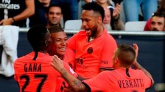 PSG's victory over Neymar's goal.
