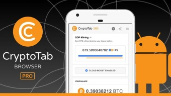 CryptoTab Pro - paid browser for Android released