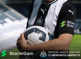 Newcastle United has won a cryptosponsor