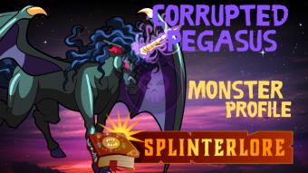 Splinterlands Legendary Card Profile - Corrupted Pegasus