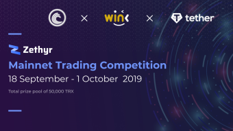 Zethyr official launch & Mainnet trading competition