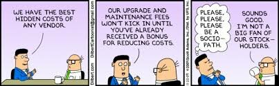 Dilbert Aside, SOVRINTown Optional Services cost the costs and leave a surplus in the Town Treasury