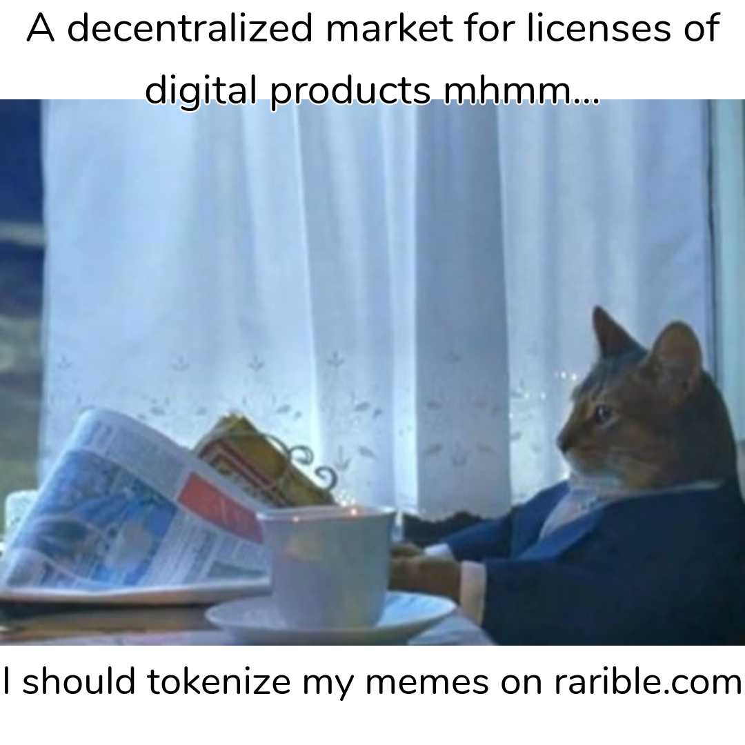 business cat enter the defi craze