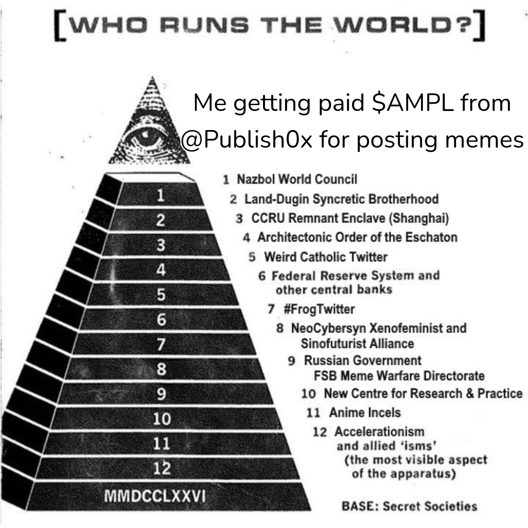 AMPLMeme publish0x pyramid illuminati meme