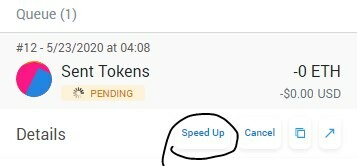send token