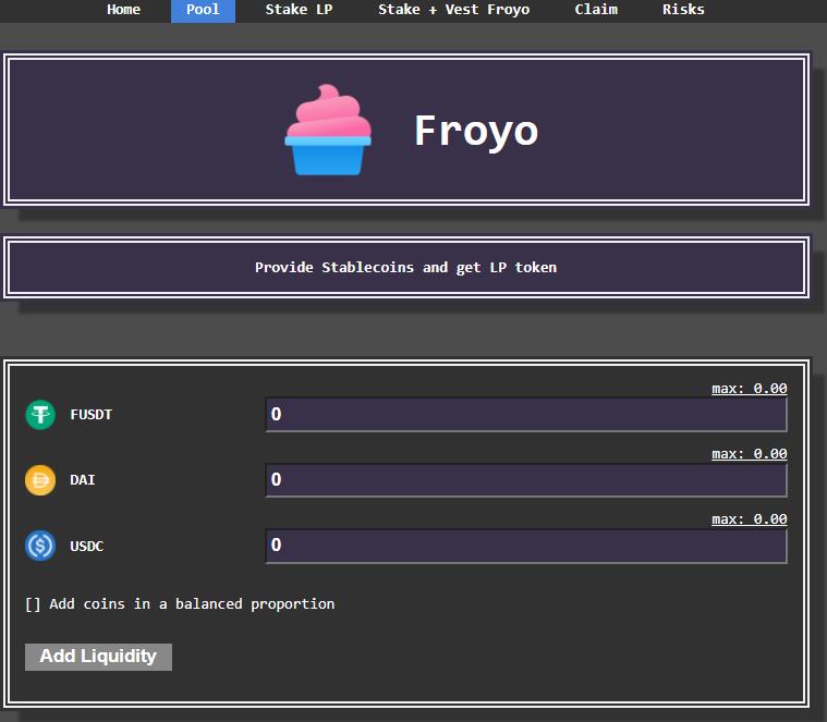 The 3Pool on Froyo