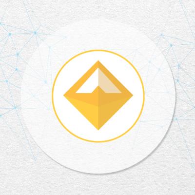 DAI token crypto logo