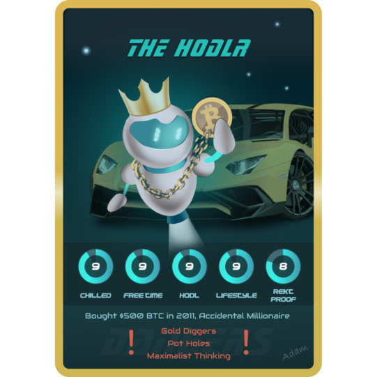 The HODLR - UpBots NFT