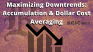 Maximizing Downtrends: Accumulation & Dollar Cost Averaging   RekTimes