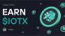 Learn and Earn $IOTX with CoinMarketCap