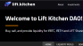 Lift Kitchen - An absolute waste of Ethereum (ETH)