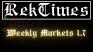 Crisis in China, U.S. Shake World Markets | RekTimes Weekly Markets 1.7
