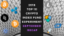 EXPERIMENT – Tracking 2018 Top Ten Cryptocurrencies – Month Forty-Five – UP +46%