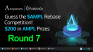 Guess #AMPL Rebase and Win from $200 in $AMPL Rewards Pool - Round 7!