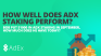 How much would you now have if you staked $1000 in ADX in September?