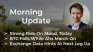 Morning‌‌ ‌‌Update—May 7th—Macro and Crypto Markets