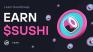 Get SUSHI tokens as reward on CoinMarketCap