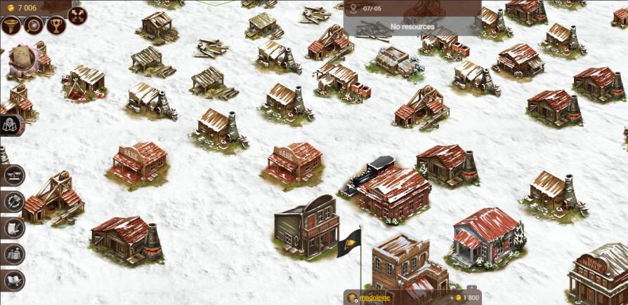 prospectors main interface