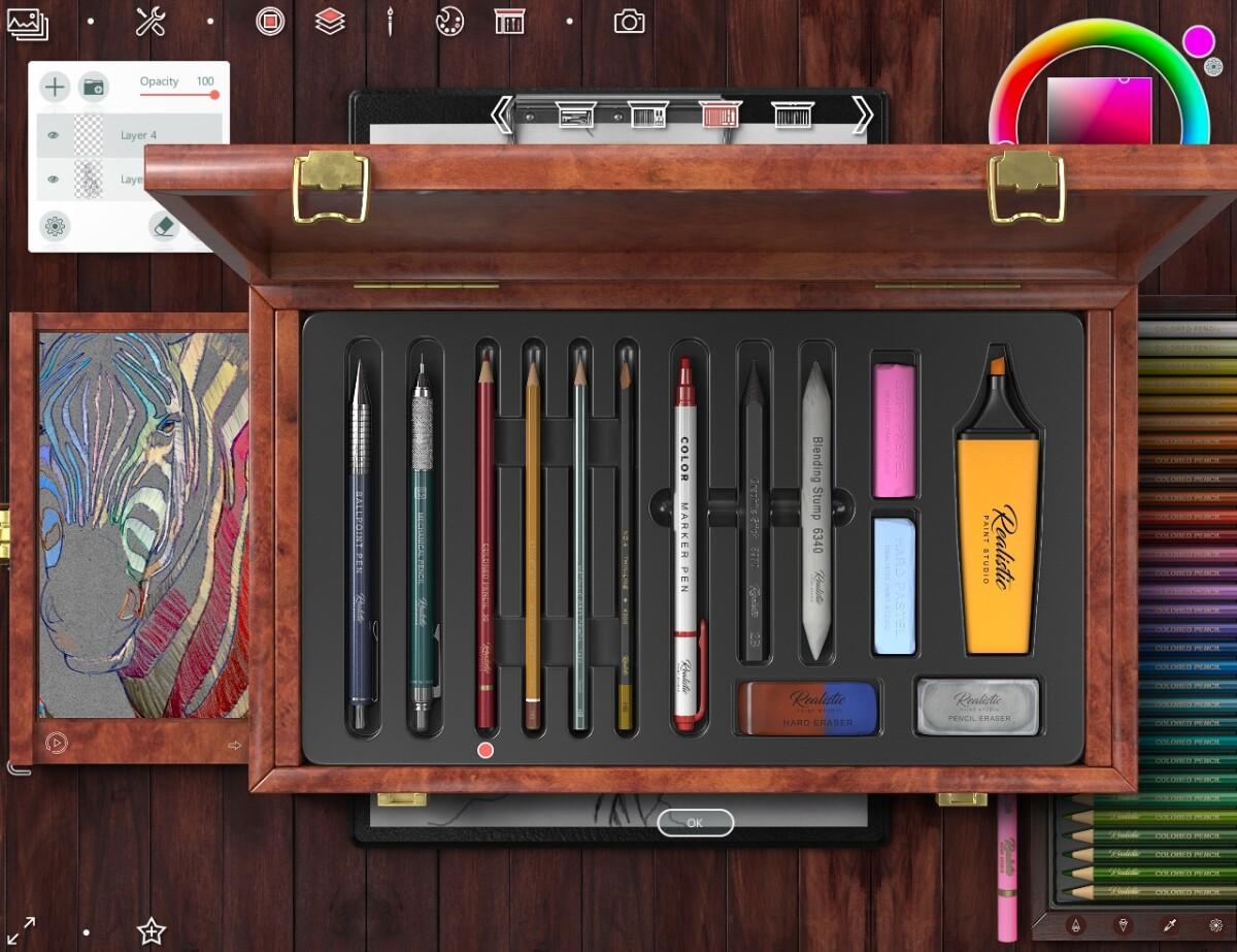 Choose a color pencils