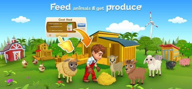 Feed animals & get produce on Cropbytes