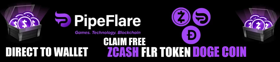 Free ZCash&Dogecoin direct to wallet