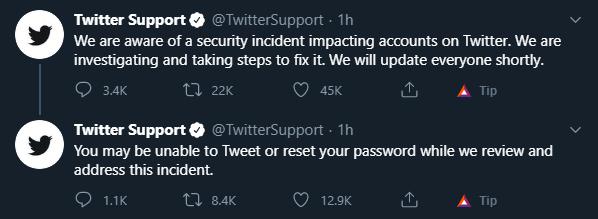 Twitter Warning