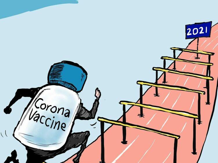 Corona Vaccine Race in 2021