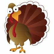 What the Turkey looks like when fate calls...Every November