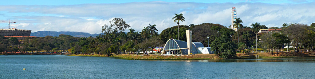 Pampulha Architectural Ensemble, considered a World Heritage Site by UNESCO