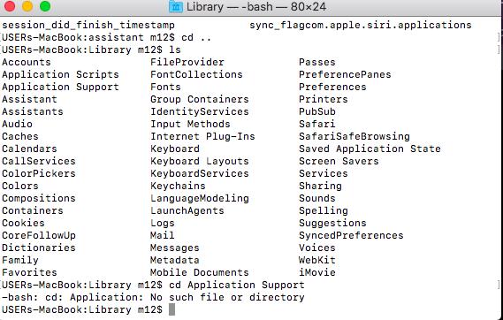 Mac Terminal image 2
