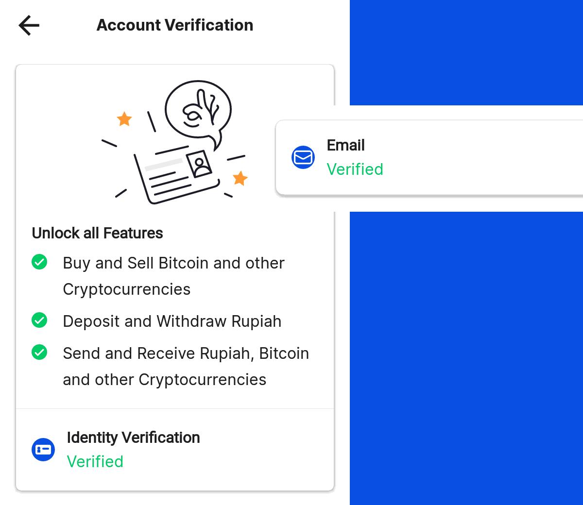 image of Pintu's Account Verification