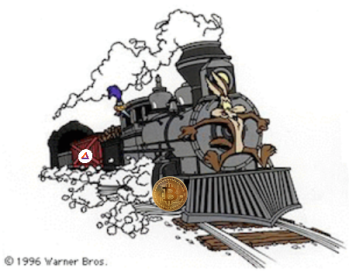 Clear the Tracks! Crypto Tech Runaway Freight Train