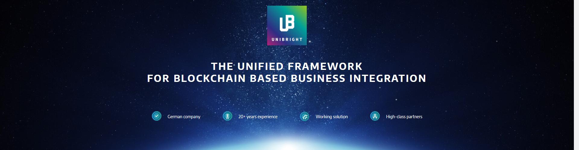 Unibright - Blockchain Integrations for Enterprise