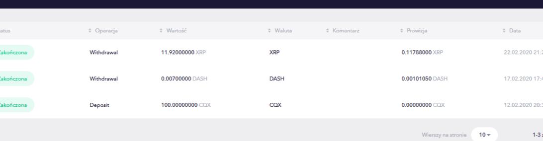 Aidrop ! 100 token CQX ( 0.11e per one coin )