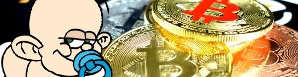"BitCoin Baby -  ""Crypto is Fun"""