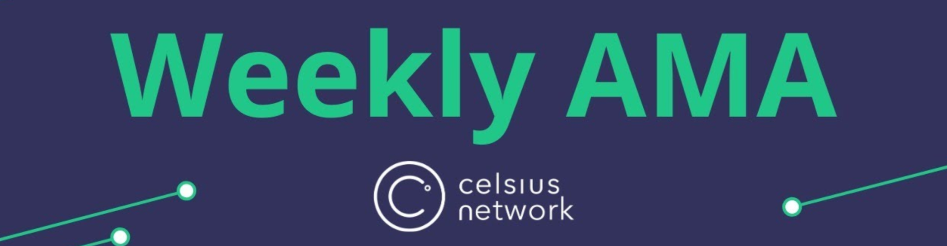 Celsius Network Weekly AMAs