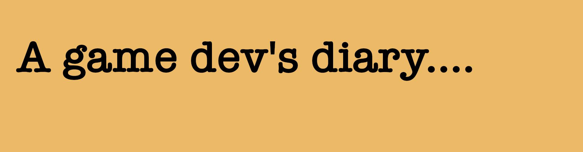 Game Dev Diary