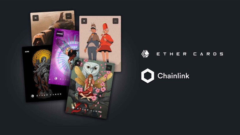 Chainlink and Ether Cards