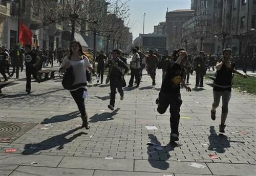 Financial Crisis hits Spain