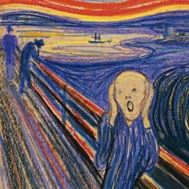 The Scream Edvard Munch 1895 pastel