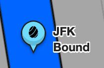 JFK Bound Property Tag