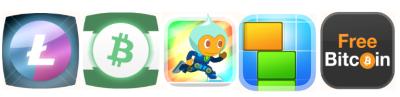 All BTC Alien App Logos