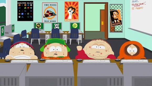 South Park on Crypto