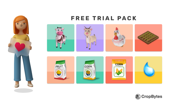 Cropbytes 7 Day Free Trial Pack